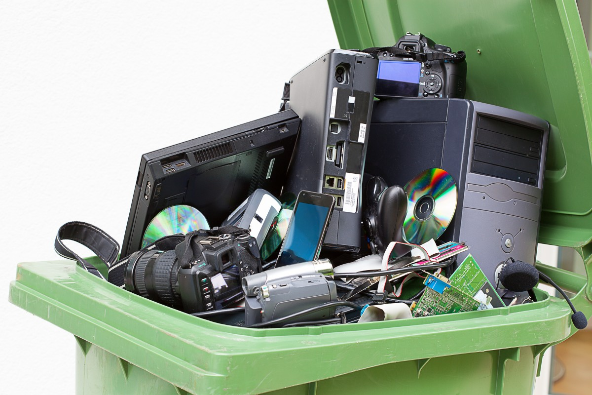 recycle electronics - Tim Kyle