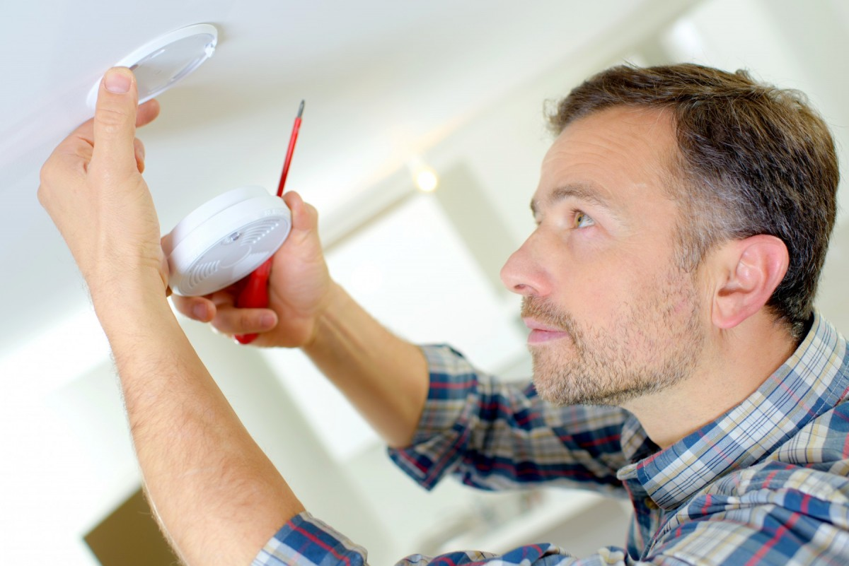 smoke alarm installation - Tim Kyle