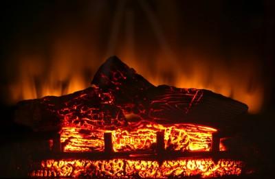 electric fireplace - Tim Kyle