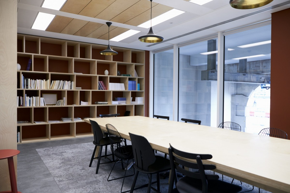 efficient lighting in the office - Tim Kyle