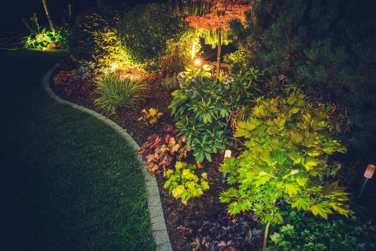 outdoor lighting - Tim Kyle
