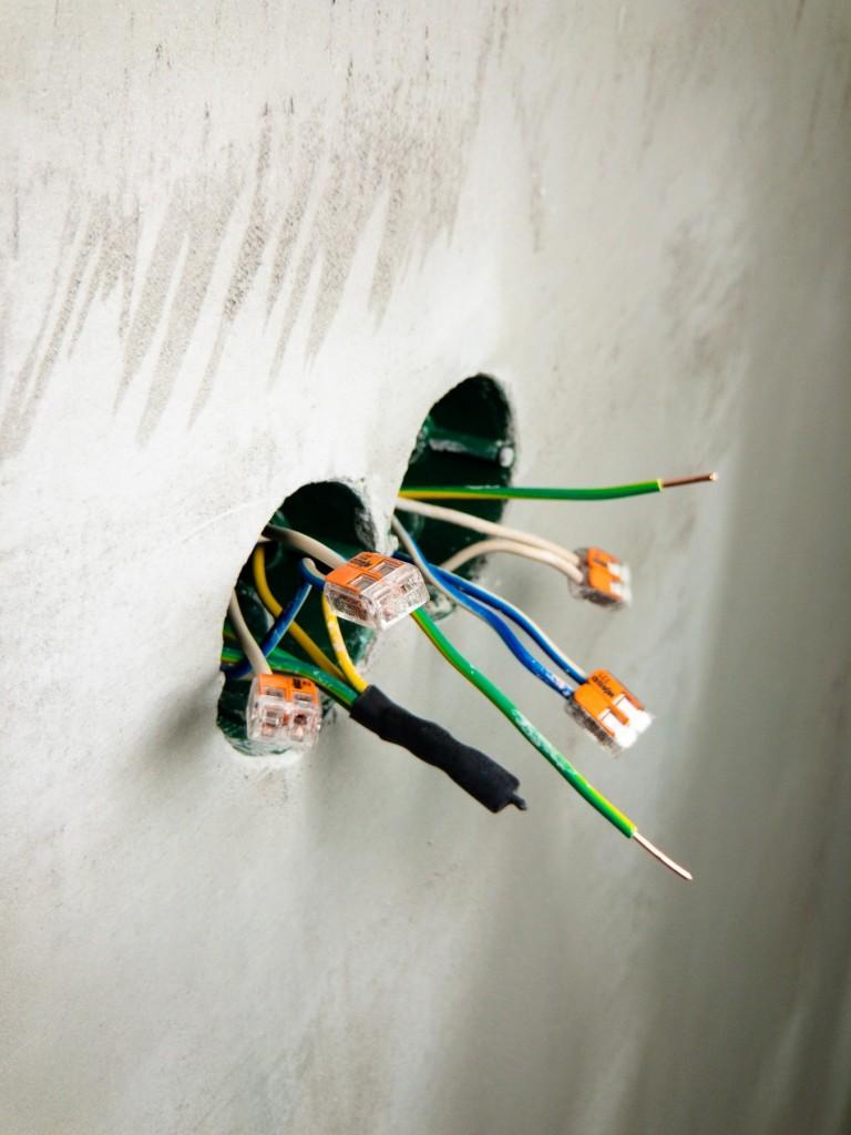 open wiring splices - Tim Kyle