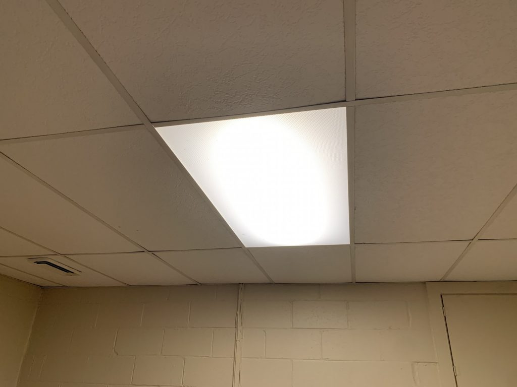 drop ceiling lighting - Tim Kyle