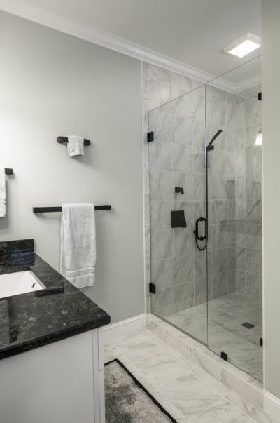 shower lighting - Tim Kyle
