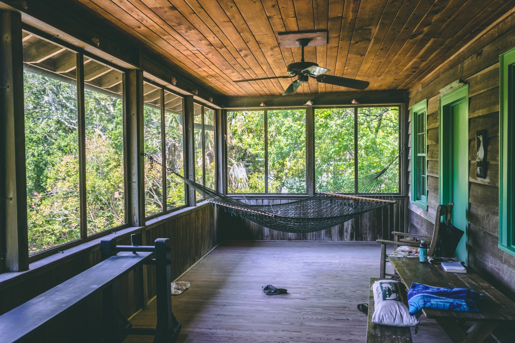 outdoor ceiling fan - Tim Kyle