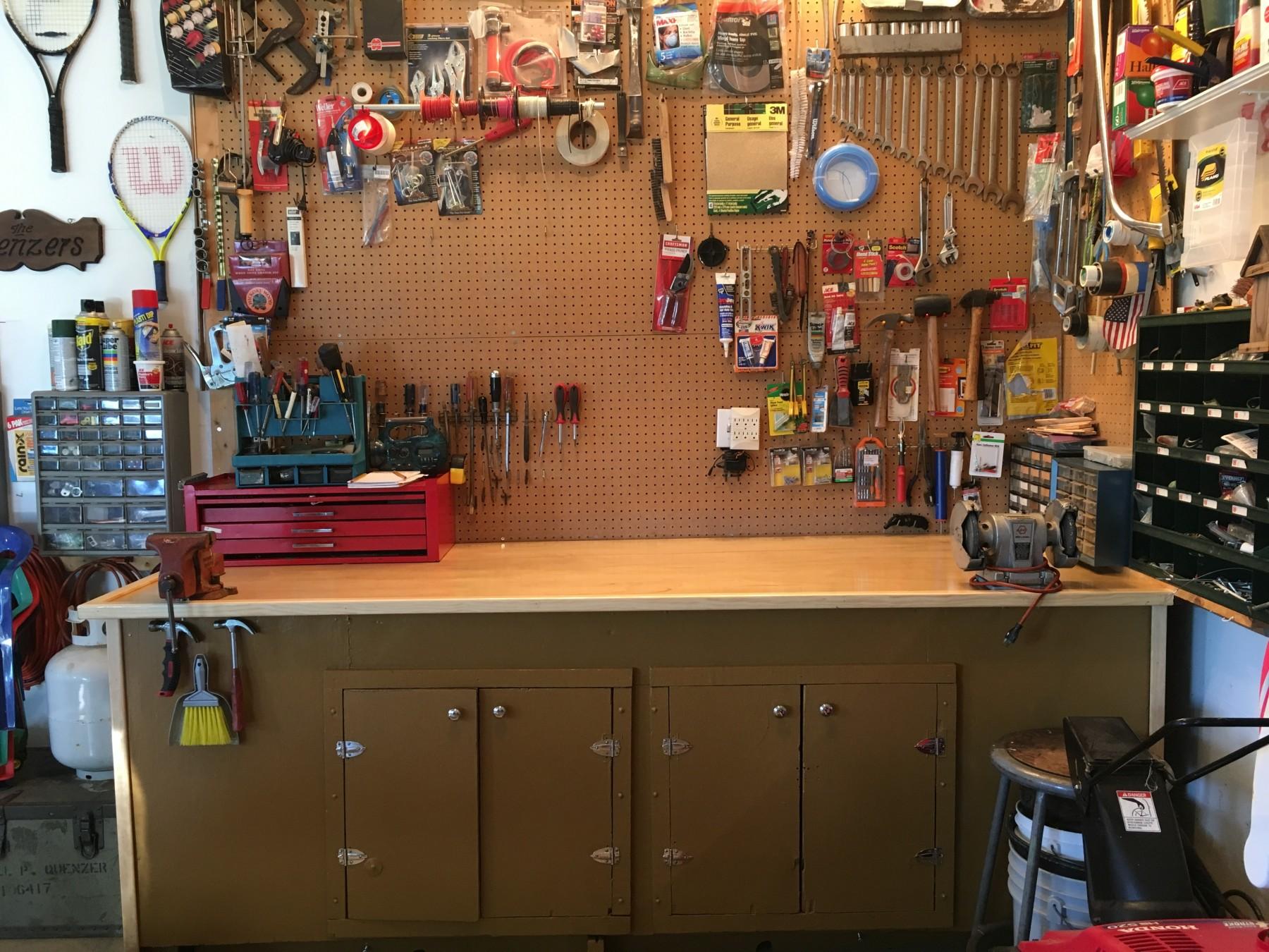 home workshop - Tim Kyle