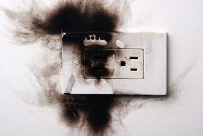 outlet sparking - Tim Kyle
