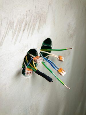 spliced wires - Tim Kyle