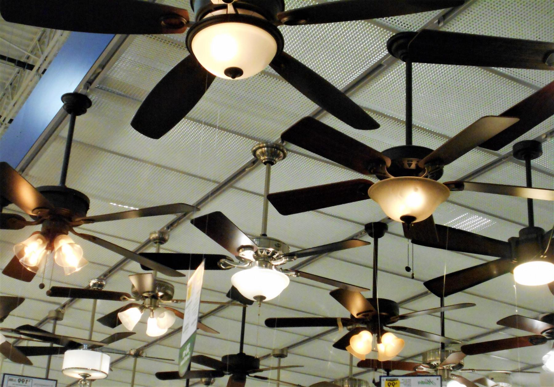ceiling fan installation - Tim Kyle