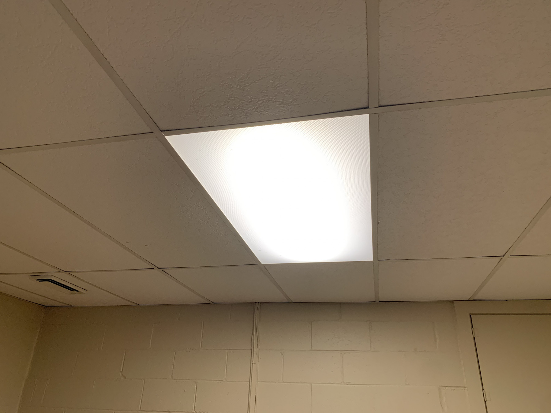 suspended ceiling lighting - Tim Kyle