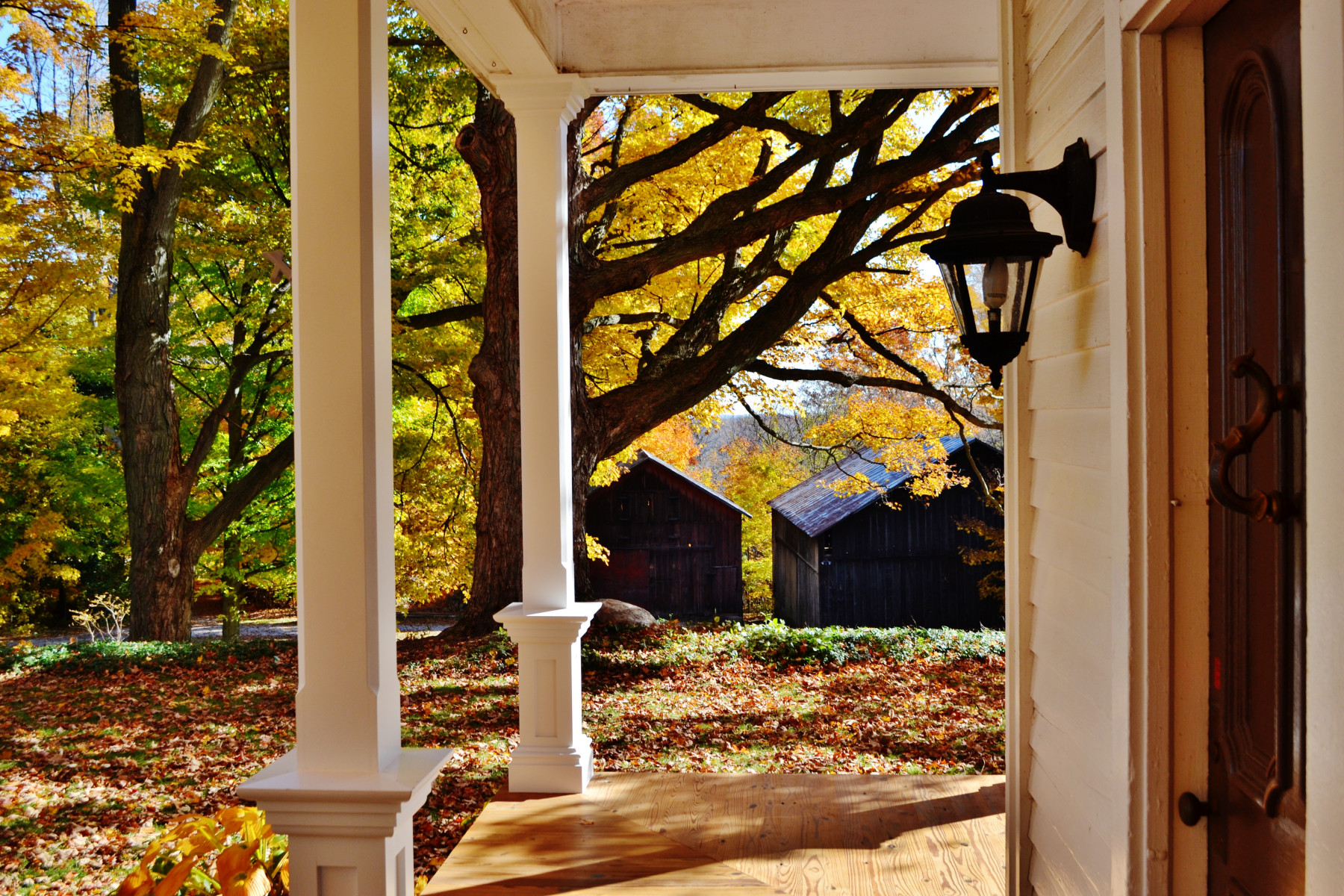 porch lighting - Tim Kyle
