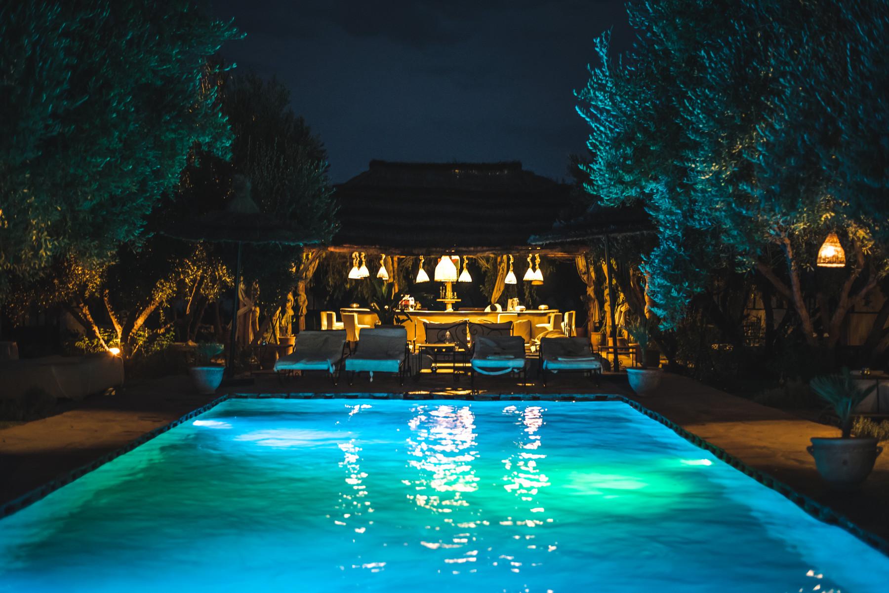 pool deck lighting - Tim Kyle