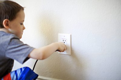 childproof outlets - Tim Kyle